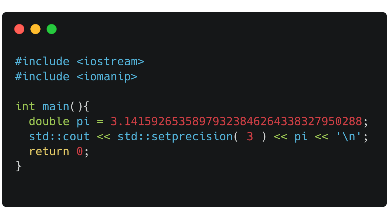 Using the iomanip C++ library