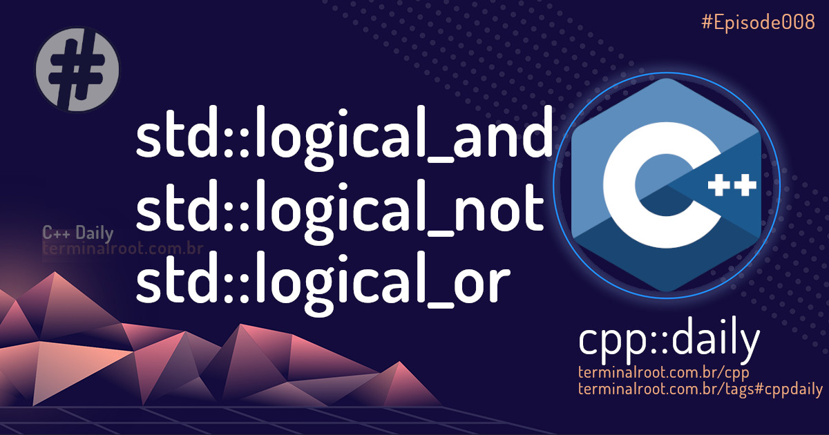 C++ - Boolean Logics with STL